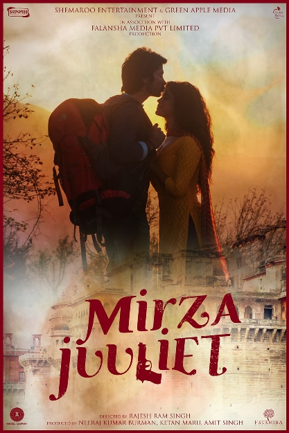 Darshan Kumar, Pia Bajpai Hindi movie Mirza Juuliet 2017 wiki, full star-cast, Release date, Actor, actress, Song name, photo, poster, trailer, wallpaper
