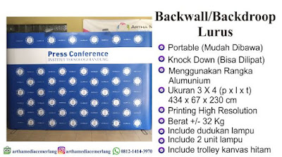 Bacwall Portable 3x3 Curve dan Stringht