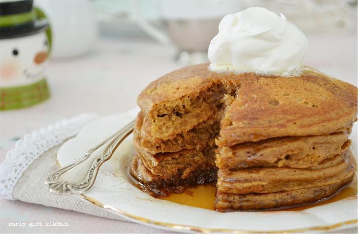 Gingerbread Pancakes, Pancake Recipes, Christmas Breakfast