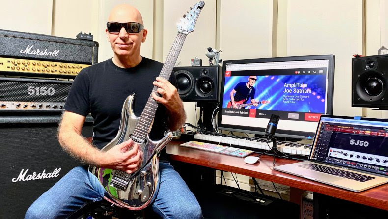 IK Multimedia and Joe Satriani debut exclusive original song celebrating the many sounds of Satriani