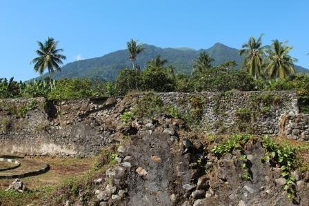 Reruntuhan Benteng São João Baptista Saat Ini