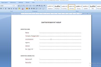 Cara menampilkan ruler atau penggaris pada microsoft word dengan mudah