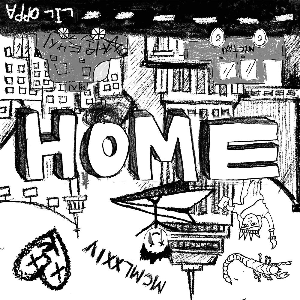 jcneverlonely – Home – EP