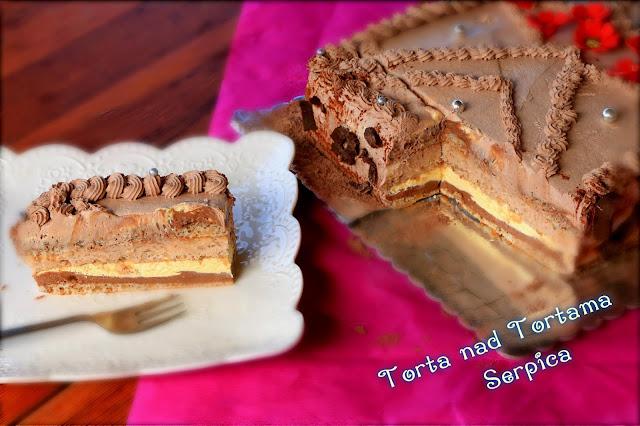 Torta-nad-tortama-Sa-orasima-i-čokoladom-Video