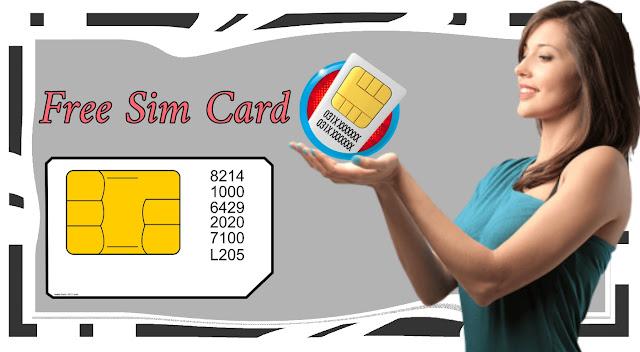 شرح الحصول على بطاقة SIM دولية مجانا | free sim card
