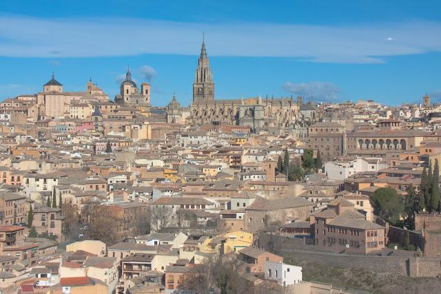 Vista de Toledo, na Espanha