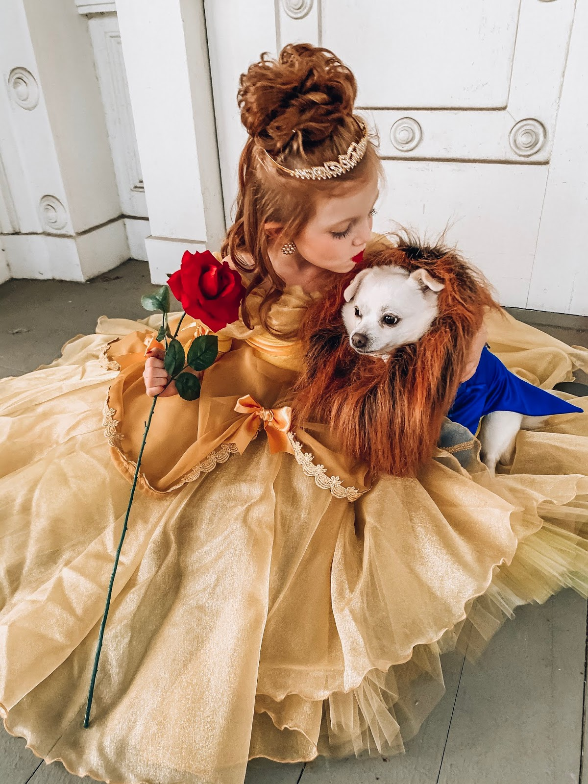 Halloween 2019: A Beauty & The Beast Halloween - Something Delightful Blog #familycostumeideas #beautyandthebeast #halloween #costumeideas