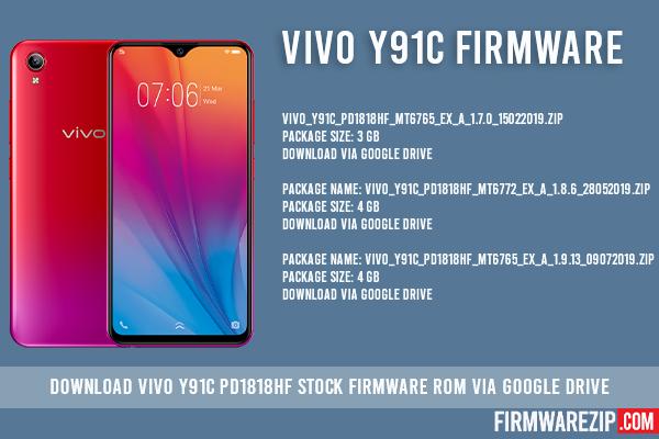 vivo y91c firmware