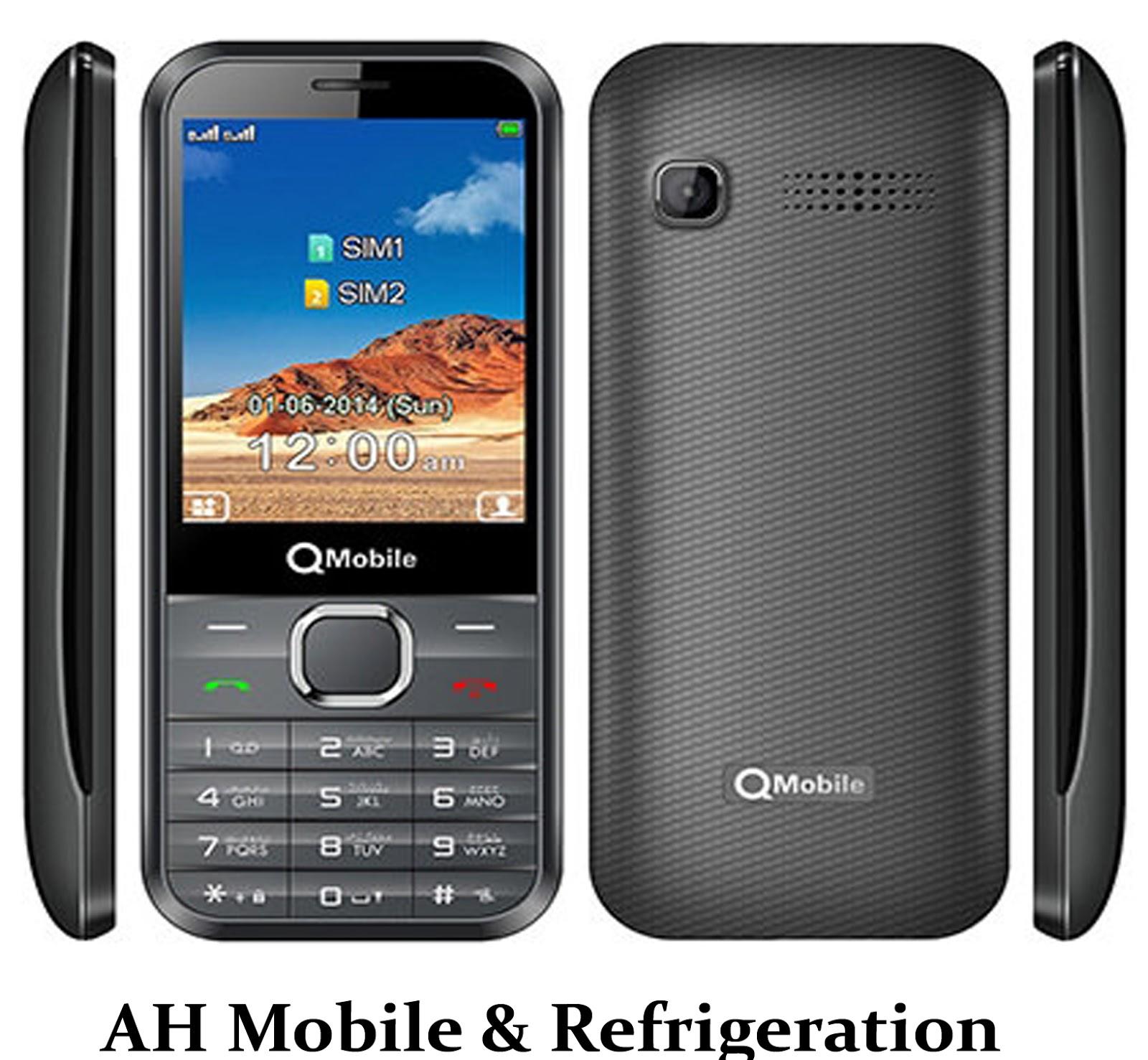 QMobile R650 MTK6261 Flash File 100% ok File - AH Mobile