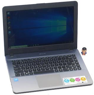 Laptop ASUS X441S Intel N3060 Fullset