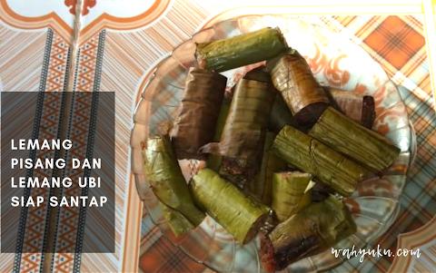 Kuliner Unik Khas Melayu, Nikmatnya Lemang Pisang dan Lemang Ubi Mukomuko