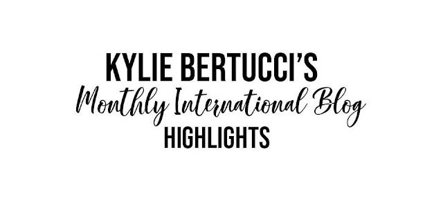 Kylie's International Blog Highlight August 2020 - Thank You