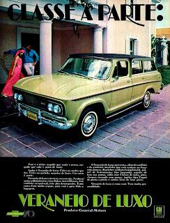 propaganda Veraneio Luxo - 1970. 1970. propaganda carros anos 70.história década de 70; Brazilian advertising cars in the 70s, propaganda anos 70; reclame década de 70. Oswaldo Hernandez;