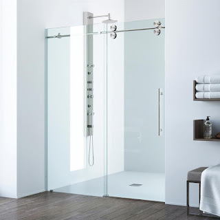 Serenity Sliding Shower Door