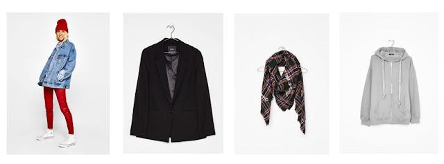 Masculine Blazer black and checkered