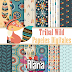 KIT DIGITAL TRIBAL ACHADOS FREEBIE