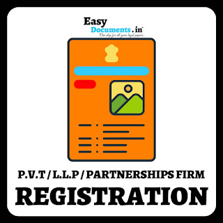 Pvt Ltd. / LLp / Partnership firm