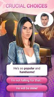 Love Story Jogos de Romance com escolhas apk mod diamantes infinito