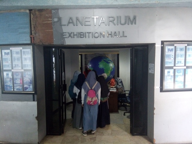 Planetarium Exhibition Hall