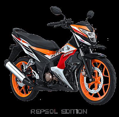 Sonic 150R Repsol Edition Nagamas Motor Klaten