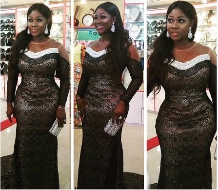 Stunning Photos of Mercy Johnson at the City People Awards yesterday