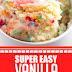 Super Easy Vanilla Mug Cake #dessert #mugcake