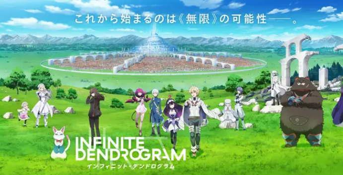 Anime Infinite Dendrogram Premier pada 9 Januari