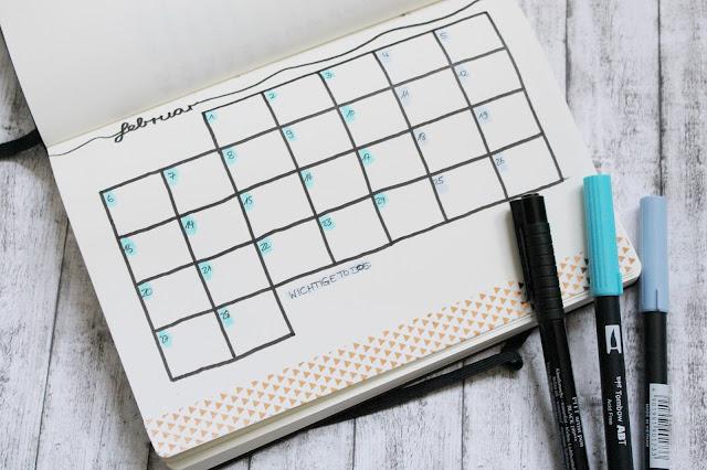 Bullet Journal February