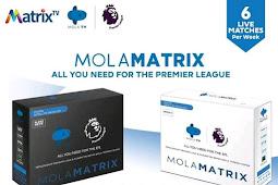 Spesifikasi Mola Matrix (Receiver Matrix Mola tv)