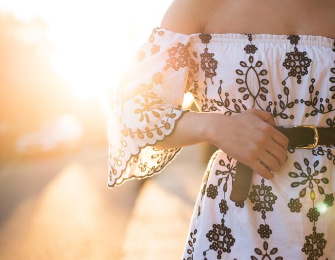 ReadyTwoWear: How to belt a summer dress