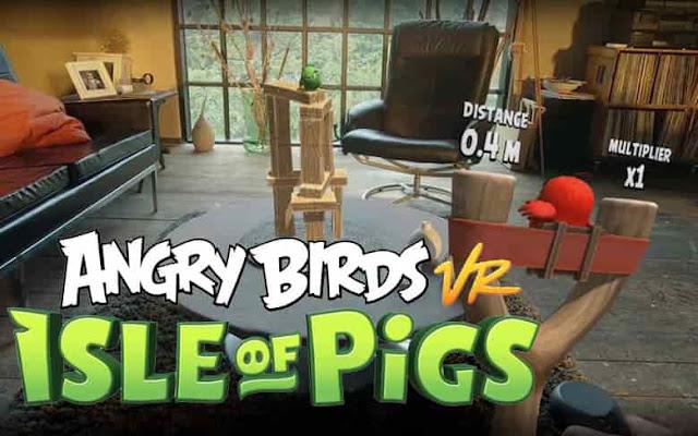 """لعبة  """"Angry Birds"""" الطيور الغاضبة قادمة بتقنية الواقع الافتراضي في 2019"""
