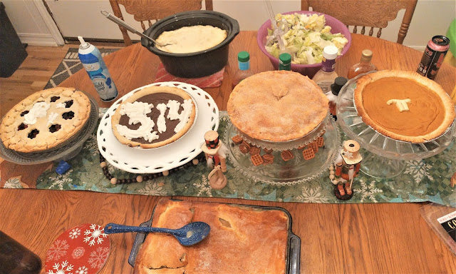 fruit pie, cream pie, shephards pie, pot pie
