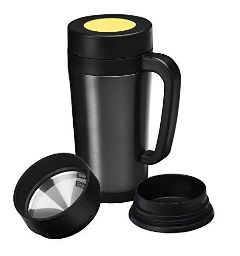 Coffee Maker For Travel Mug : Coffee Maker Thermal Travel Mug Profreebies-fan
