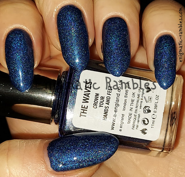 Nail Polish Swatch A England The Waves Moments with Virginia Collection