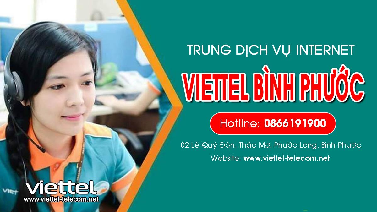 Viettel Bình Phước | Trung tâm lắp mạng Internet và Truyền hình ViettelTV