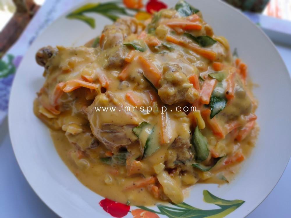 Ayam Salted Egg Butter Sedap dan Mudah Tiru Resepi Selebriti Eina Azman