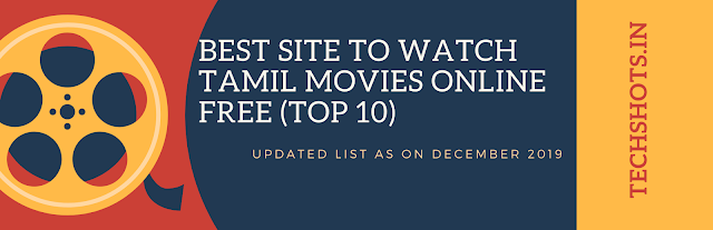 Best Site To Watch Tamil Movies online Free (Top 10)