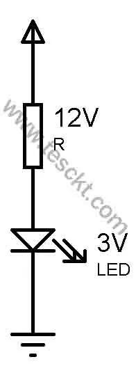 Ac line tester circuit