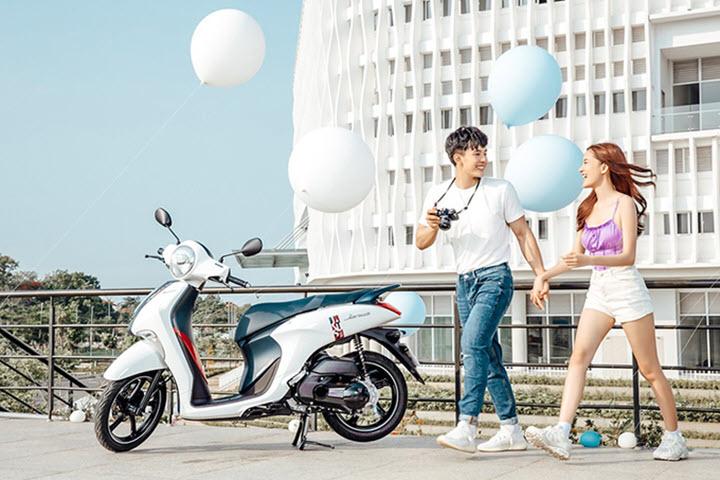 Blue Core - động cơ tiết kiệm xăng của xe ga Yamaha