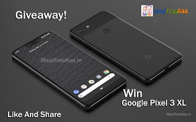 Google Pixel 3 XL Giveaway