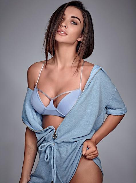 Full Set Of Amy Jackson's Scorching Hot Photoshoot Pics From Maxim India Magazine January-February 2017 Issue