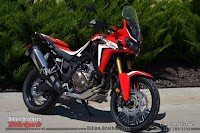 Right Side Africa Twin