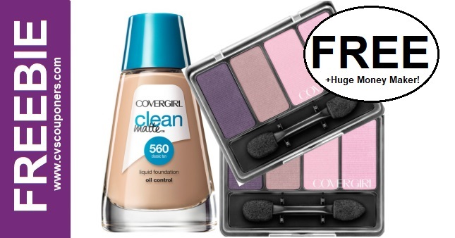 FREE CoverGirl Liquid Foundation at CVS 4-12-4-18