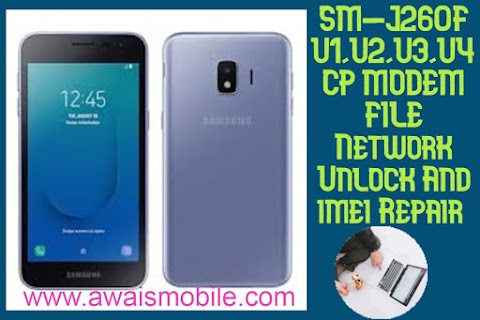 Samsung J260F U1 U2 U3 U4 Cp Modem File Network Repair And Repair imei File download