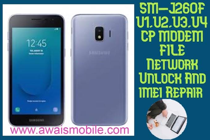 Samsung J260F U1 U2 U3 U4 Cp Modem File Network Repair And Repair imei File download