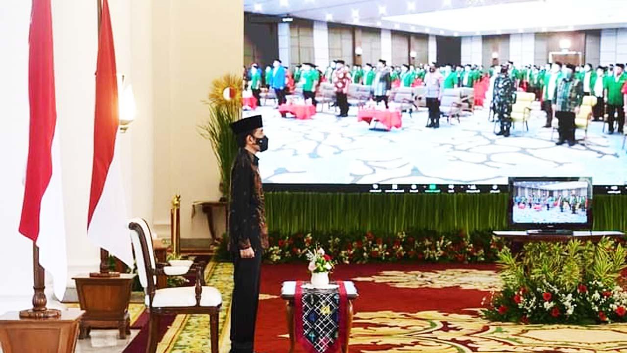 Dihadiri Presiden Secara Virtual GP Ansor Gelar Konbes Ke XXIII di Sulawesi Utara
