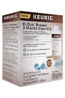 Keurig K-Duo 3 Month Care Brewer Maintenance Kit