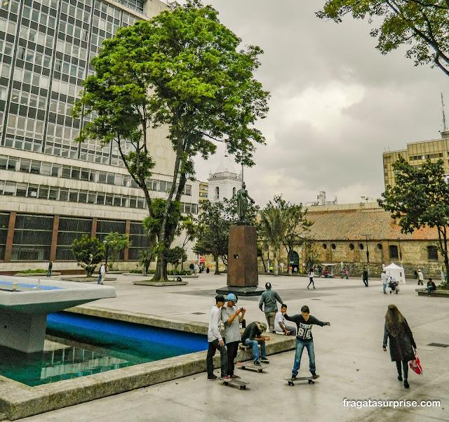 Parque Santander, Bogotá