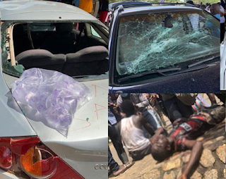 #EndSWAT: Dozens injured as hoodlums attack protesters in Abuja