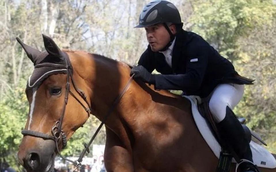 Héctor Rafael Caro, hijo del narcotraficante Rafael Caro Quintero, jinete destacado que jugó en los Juegos Olímpicos de Pekín 2008